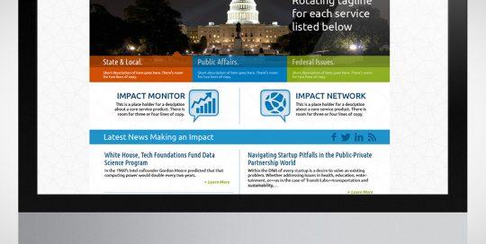 Impact Group Homepage