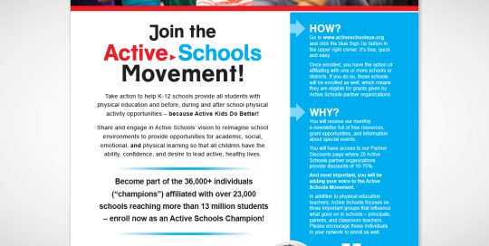 Active Schools Catalog Ad