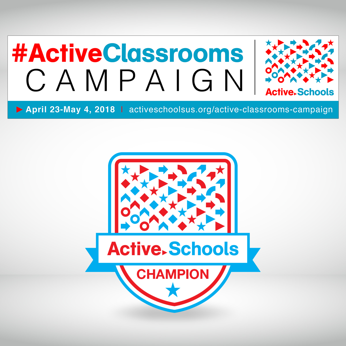 Active Schools Email Badge & Header