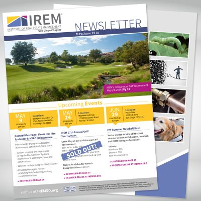 IREM Newsletter Cover and ToC