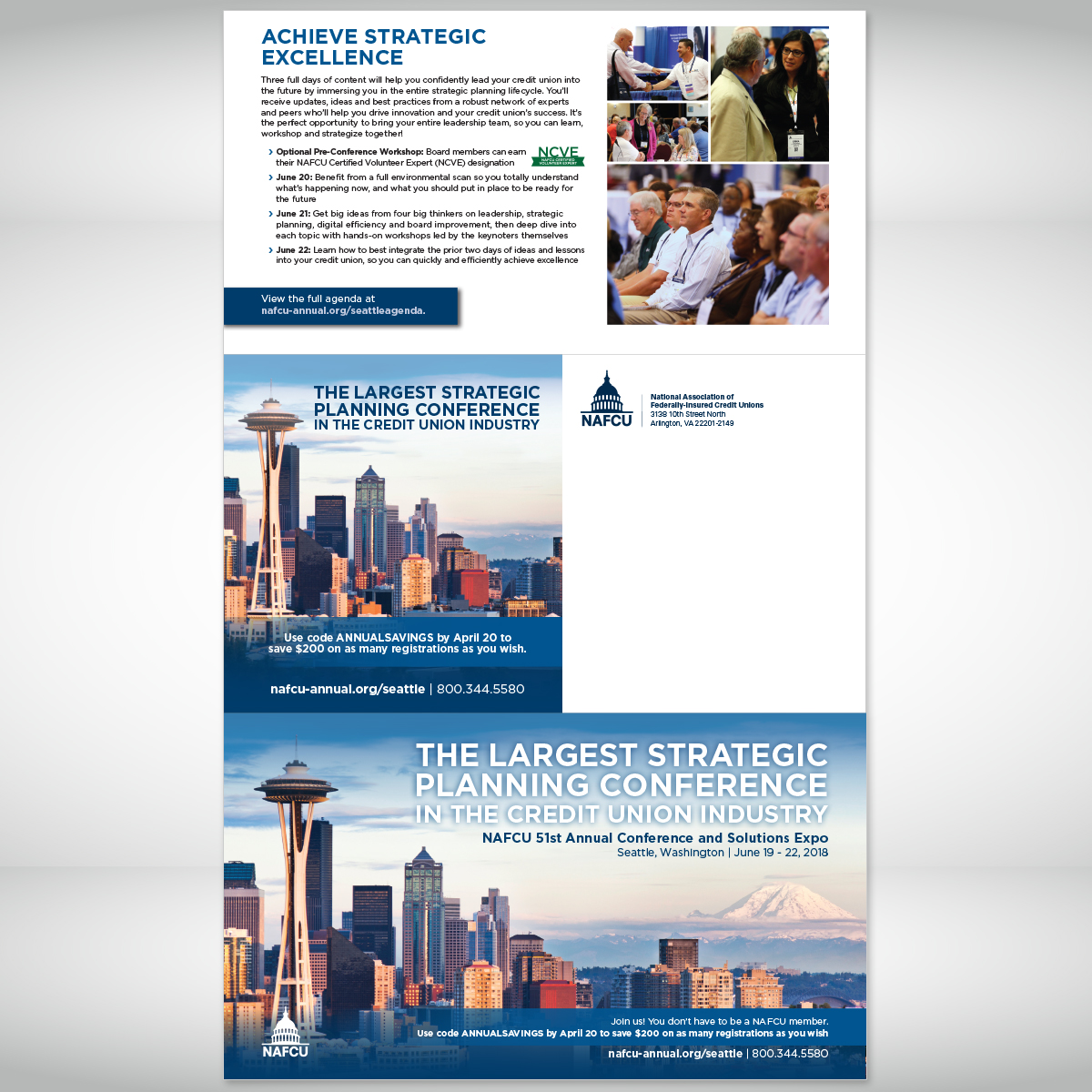 NAFCU Annual Conference 2018 Brochure (outside)