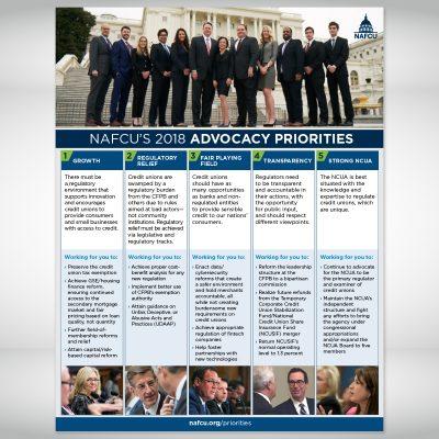 NAFCU Advocacy Flyer