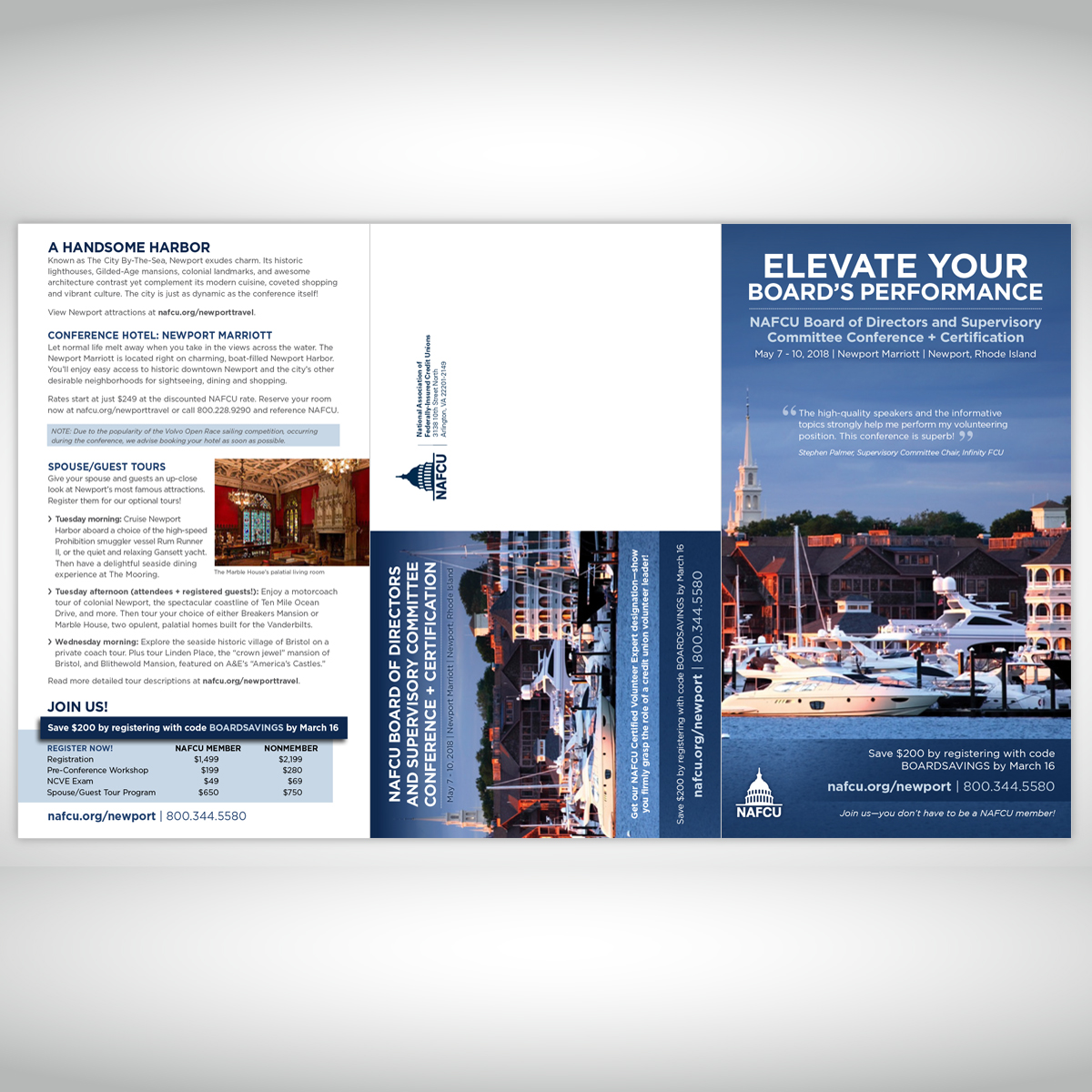 NAFCU Board of Directors 2018 Brochure (outside)
