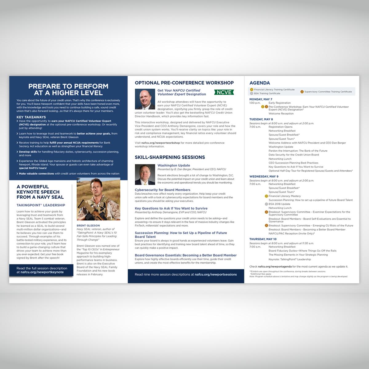 NAFCU Board of Directors 2018 Brochure (inside)