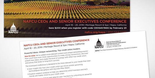 NNAFCUCEOs and Senior Executives Conference Postcard