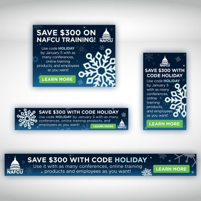 NAFCU Holiday Ads