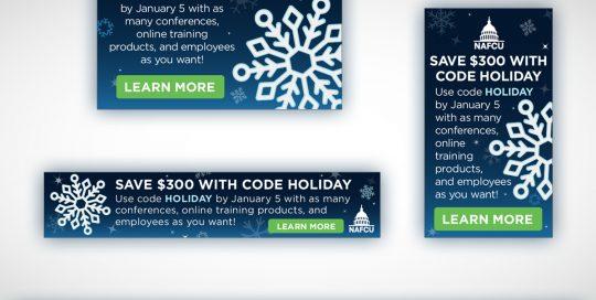 NAFCU Holiday Ads