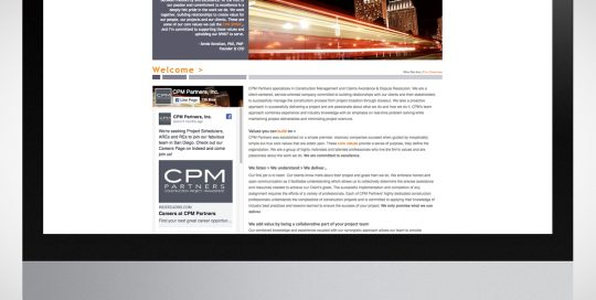 CPM Home Page