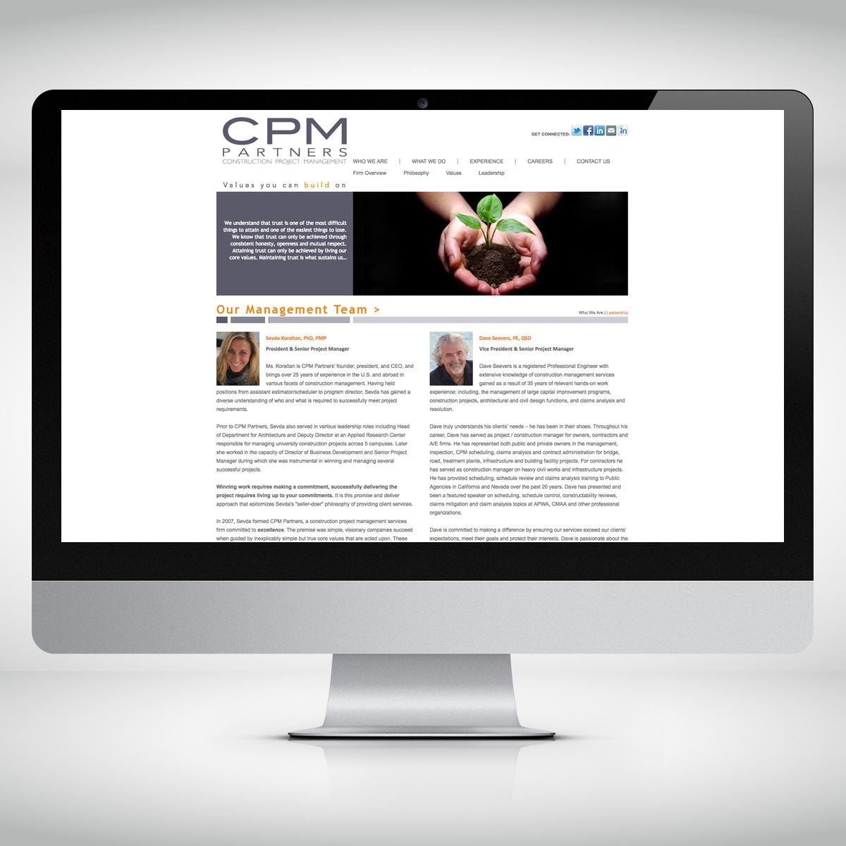 CPM Team Page