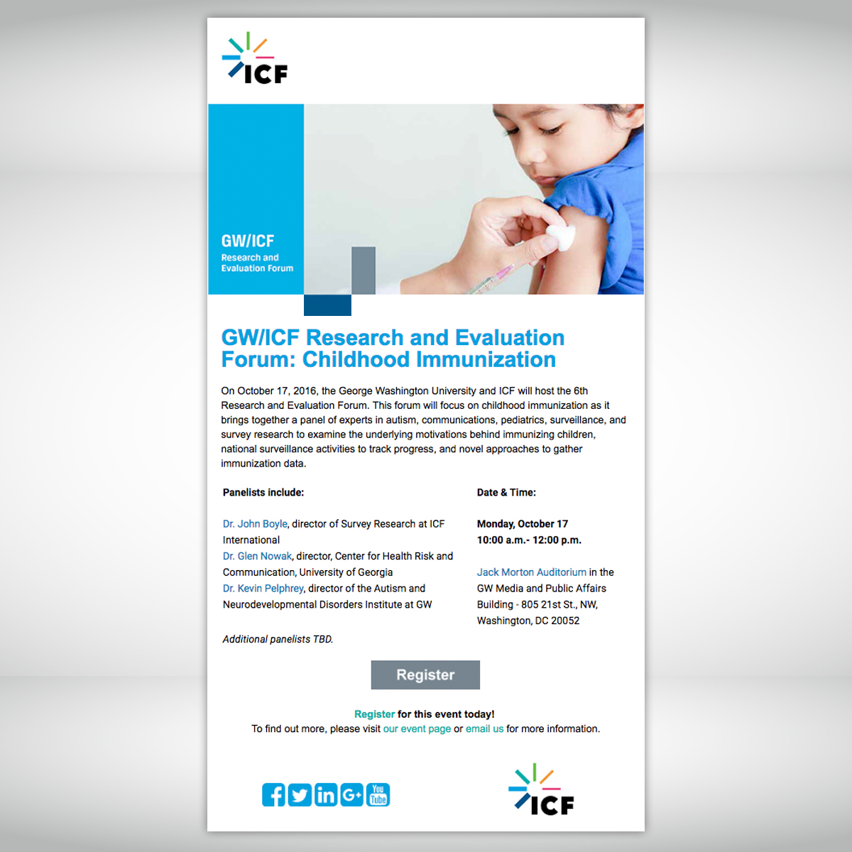 ICF Email 1