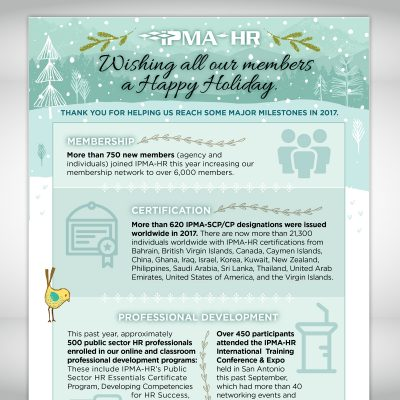 IPMA-HR Holiday Email 1